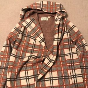 Wool Sweater Coat